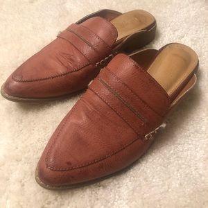 Mi.iM genuine leather mules